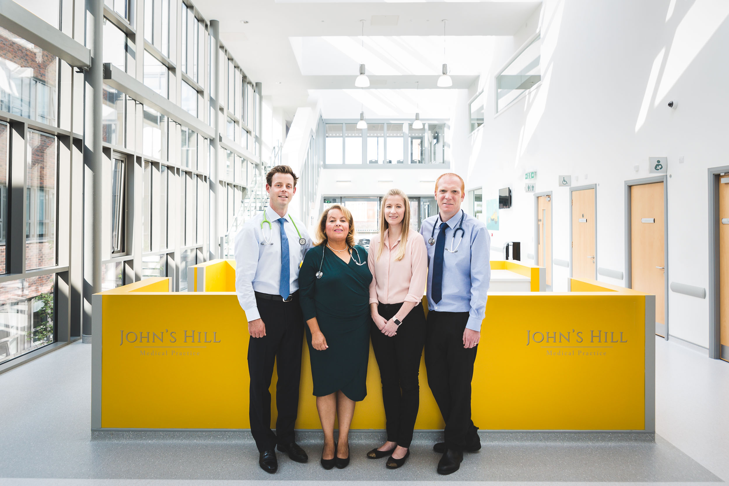 John's Hill Medical Practice - the team in Waterford Primary Care Centre September 2018
